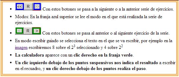 Instrucciones de una escena de Descartes Álgebra