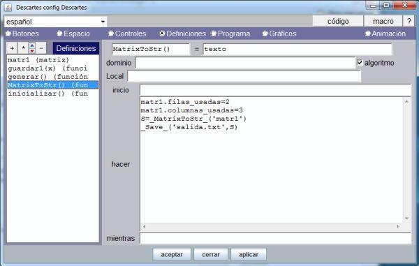 Guardar una matriz con _MatrixToStr_