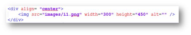 Código para insertar imagen